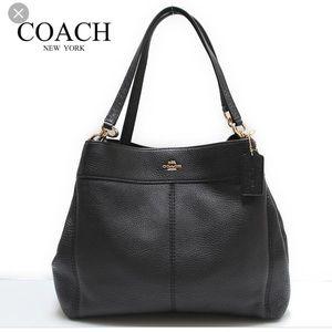 COACH Large Lexy Shoulder Handbag NWOT